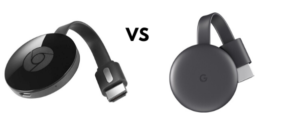 Verschillen Chromecast 2 vs 3